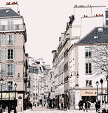 Paris - Street in Saint Germain - 76373732