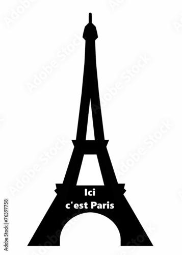 Photo  Ici c'est Paris