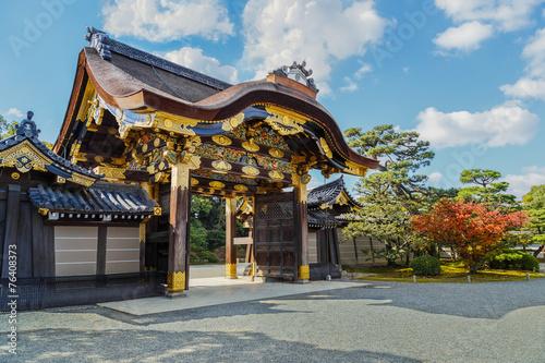 Foto auf AluDibond Japan Ninomaru Palace at Nijo Castle in Kyoto