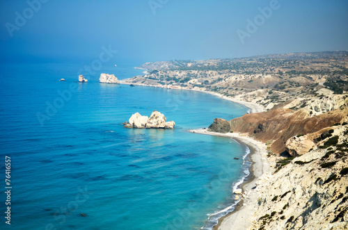 Foto auf Acrylglas Zypern Aphrodite coast