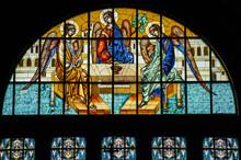 Mosaic Church Window