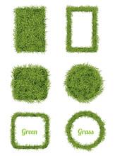 Green Grass Background & Frame Set