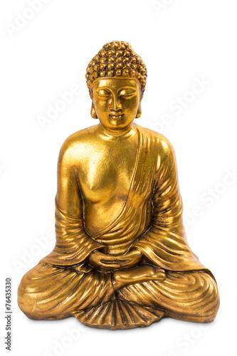 Tuinposter Boeddha goldener Buddha