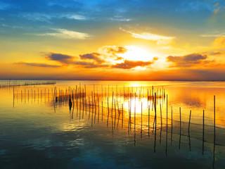 Obraz na Plexi amanecer en el oceano
