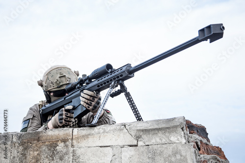 Fotografía U.S. Army sniper