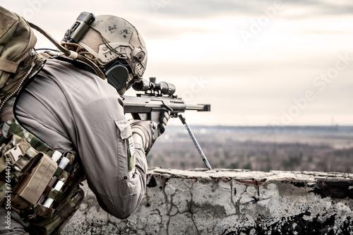 Cuadros en Lienzo  U.S. Army sniper