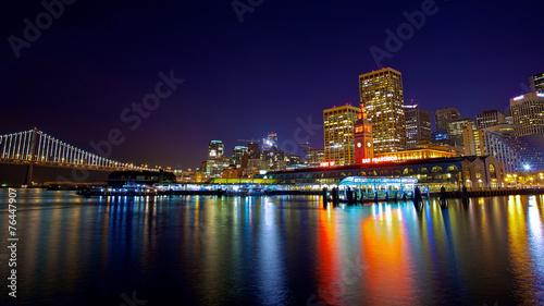 Deurstickers San Francisco Port of San Francisco
