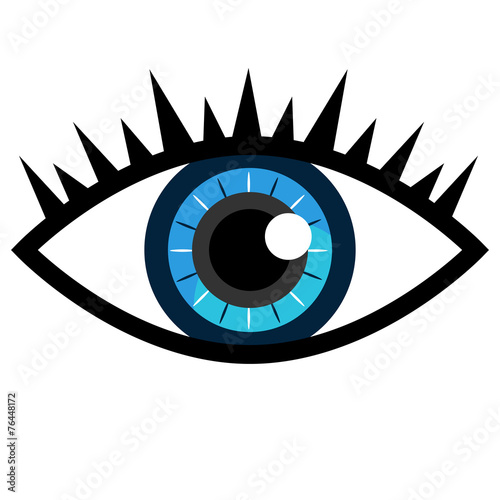 Blue Eye Icon Buy This Stock Vector And Explore Similar Vectors At