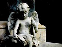 Angel Child Statue