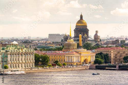 Foto op Plexiglas Artistiek mon. View of the St. Petersburg