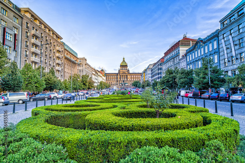 Staande foto Praag Wenceslas Square in Prague