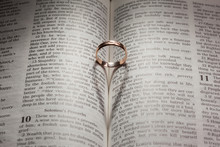 Wedding Ring And Heart Shaped ...