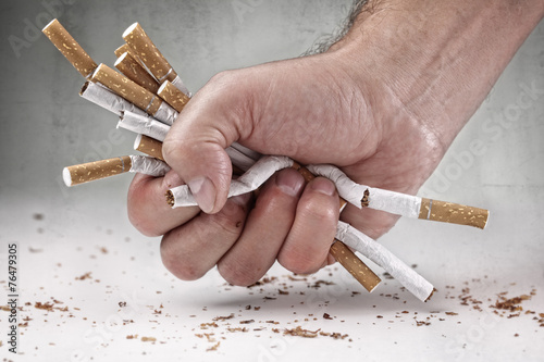 Fotografía Quitting smoking