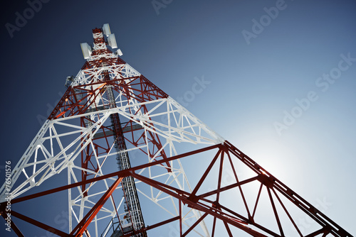 Fotografie, Tablou  Telecommunications tower
