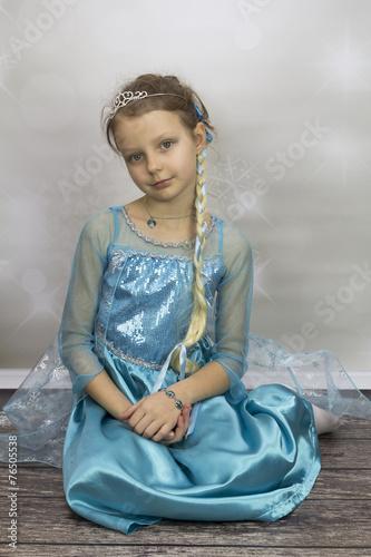 Fotografie, Obraz  Młoda Elsa