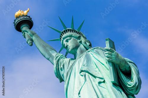 Foto  Freiheitsstatue New York amerikanisches Symbol USA