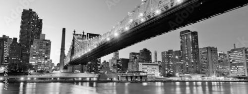 Photo  New York City night panorama