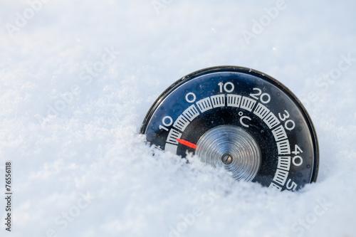 Fotografia, Obraz  Cold weather concept