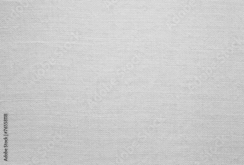 Fotografie, Obraz White linen texture, background with copy space
