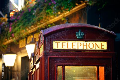 Fotografie, Obraz  London Telephone box