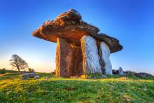 Poulnabrone Portal Tomb In Bur...
