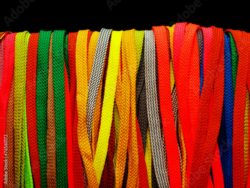 Fotografía  many multicolored laces