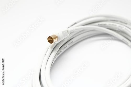 Fotografía  Coaxial cable