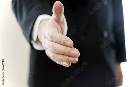Fotografia  握手の手