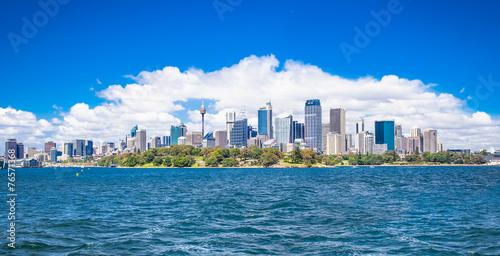 Spoed Fotobehang Centraal-Amerika Landen Beautiful landscape of Sydney city. Australia.