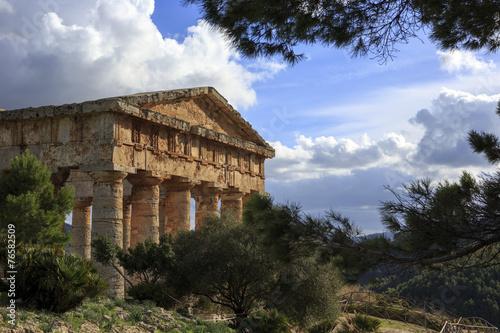 Fotografie, Obraz  Segesta temple