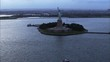 New York Statue Liberty Ocean