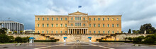 Hellenic Parliament At Night -...