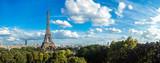 Fototapeta Fototapety z wieżą Eiffla - Eiffel Tower in Paris, France
