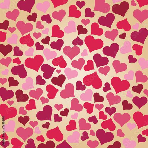 Tapeta ścienna na wymiar Valentine day Background