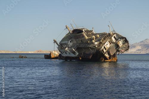 Deurstickers Schipbreuk Dead Ship
