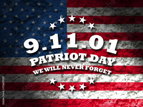 Tela  9-11 - patriot day