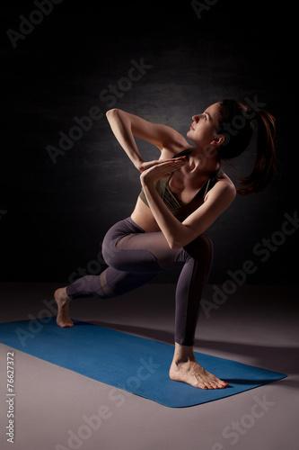 Stampe Yoga practice