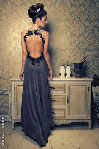 Fotografia, Obraz  back is beautiful