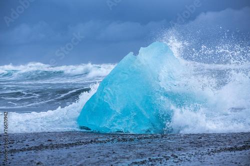 Foto op Plexiglas Arctica Jokulsarlon Glacier Lagoon