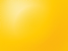 Abstract Light Yellow Background Made Of Semi Circles