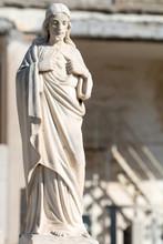 Statue Of Jesus Sitting