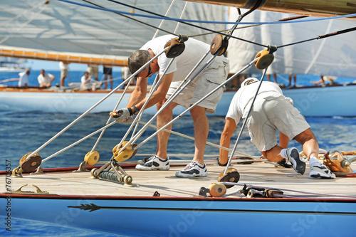 Cadres-photo bureau Voile Yacht