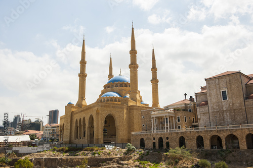 """Mohammed-al-Amin""- Moschee in Beirut, Libanon"