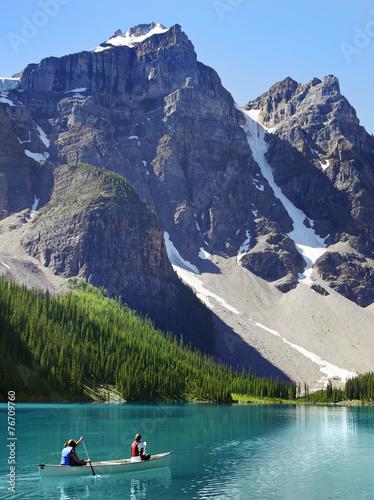 Keuken foto achterwand Canada kanada, Bergsee