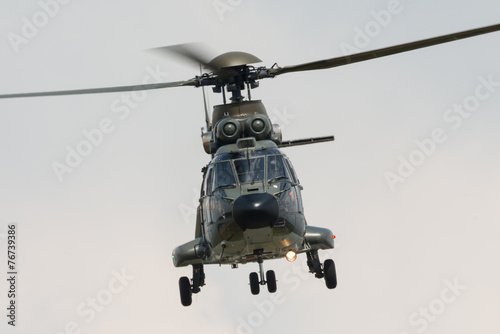 Tuinposter Helicopter Miltary helicopter
