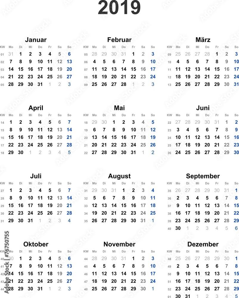 Feiertage in mai 2019