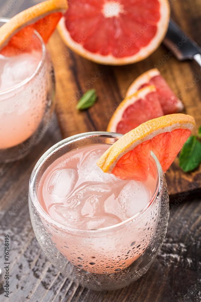 Fotografija  Grapefruit cocktail