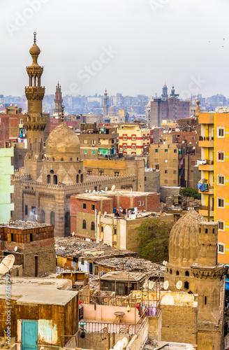 Tuinposter Egypte View of Islamic Cairo - Egypt