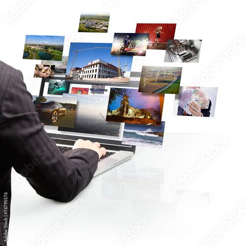 Fototapeta Internet obraz na płótnie