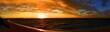 Leinwandbild Motiv sunset at Ningaloo Coast, West Australia